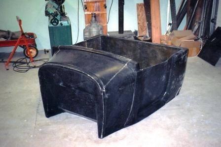 Modify Fiberglass Hot Rod Body 1