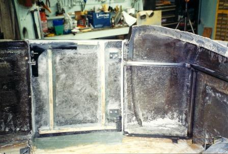 How to reinforce fiberglass hot rod doors