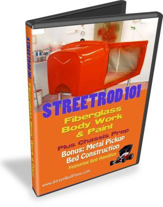 Fiberglass Bodywork And Paint DVD Set StreetRodPlanscom - Paint plus